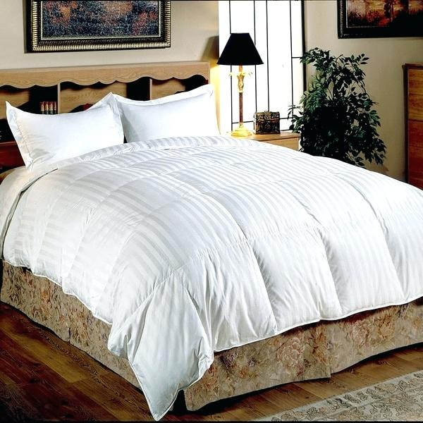 Hotel Collection Down Comforter White Down Comforter Set Hotel Grand Oversized Thread Count Medium Warmth
