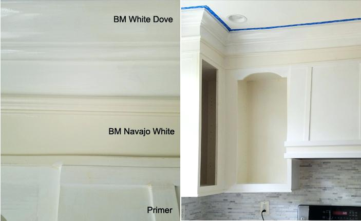 benjamin moore navajo white kitchen cabinets white dove paint la simple steps to re paint your kitchen cabinets white dove paint interior decorating styles list