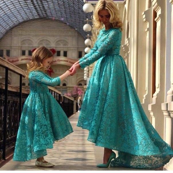 light teal color dresses charming teal color long sleeves high low lace flower girls dresses little girls dresses fashion mother daughter dresses ivory flower girl dresses light teal blue dresses