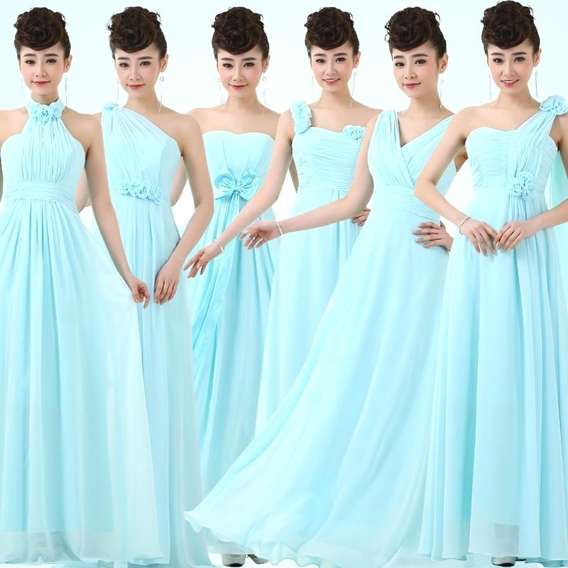 light teal color dresses long light blue dress bridesmaid dress chiffon formal dresses of party wedding solid pastel blue party dresses for juniors in bridesmaid dresses from light teal blue dresses